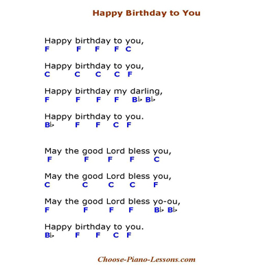 happy birthday lyrics and chords ; happy-birthday-chord-tutorial