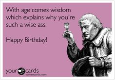 happy birthday man funny ; funny-birthday-ecards-for-her-modern-design-purple-background-decorated-with-old-man-holds-glas-black-coloured-birthday-greeting-and-quotes