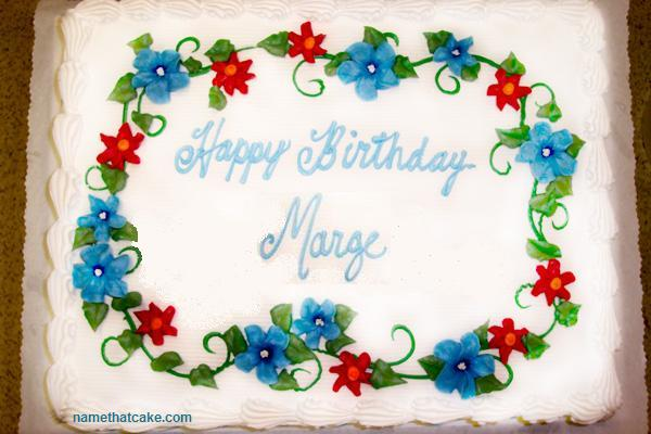 happy birthday marge ; marge