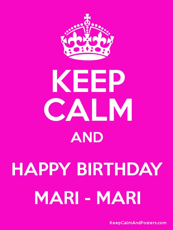 happy birthday mari ; 2577167