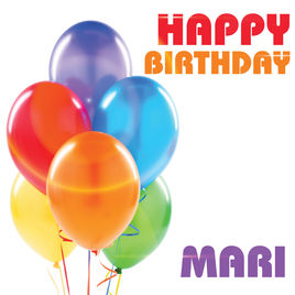 happy birthday mari ; 268x0w