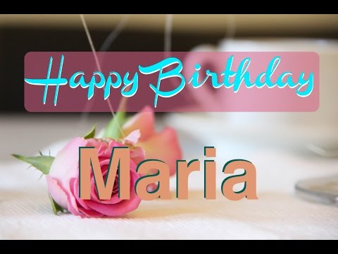 happy birthday mari ; hqdefault
