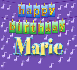 happy birthday marie images ; 268x0w