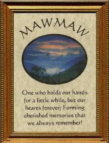 happy birthday maw maw ; mawmaw-gift-poem-framed-213x279