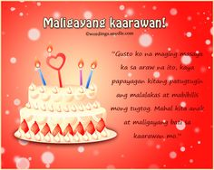 happy birthday message mother tagalog ; 81467fe6644015a2848705a8d40d031b--birthdays