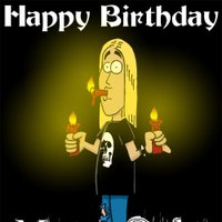 happy birthday metal ; Geburtstag-Metalhead