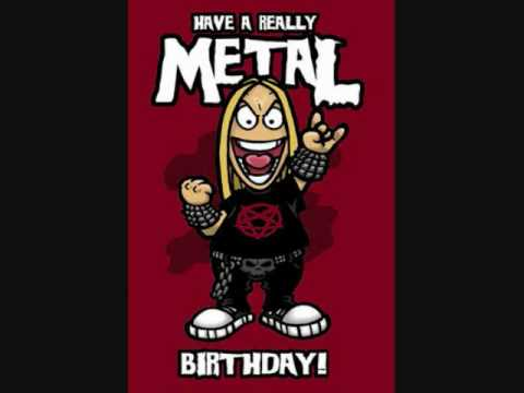 happy birthday metal ; hqdefault