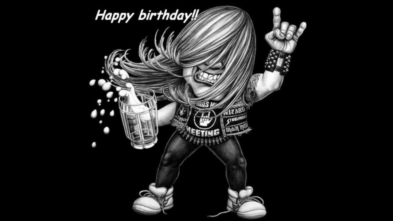 happy birthday metal meme ; maxresdefault