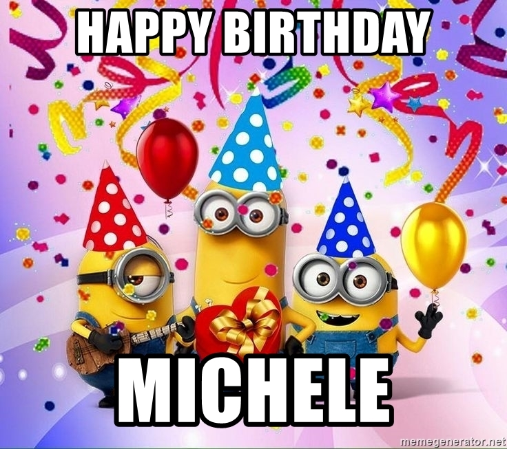 happy birthday michele images ; 72939624