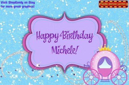 happy birthday michele images ; M