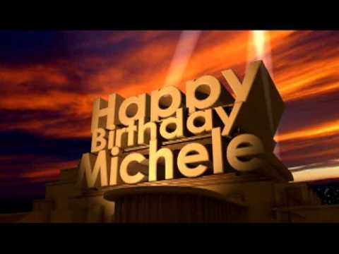happy birthday michele images ; hqdefault