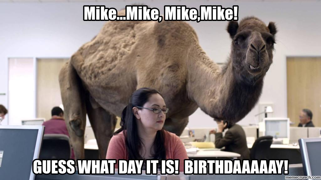 happy birthday mike funny ; image