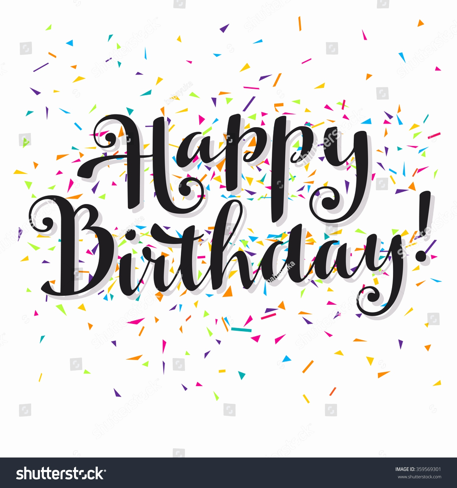 happy birthday modern ; modern-happy-birthday-wishes-awesome-vector-hand-written-happy-birthday-greeting-stock-vector-of-modern-happy-birthday-wishes