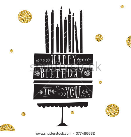happy birthday modern ; stock-vector-vector-happy-birthday-card-modern-hipster-greeting-with-handwriting-type-and-minimalistic-377486632