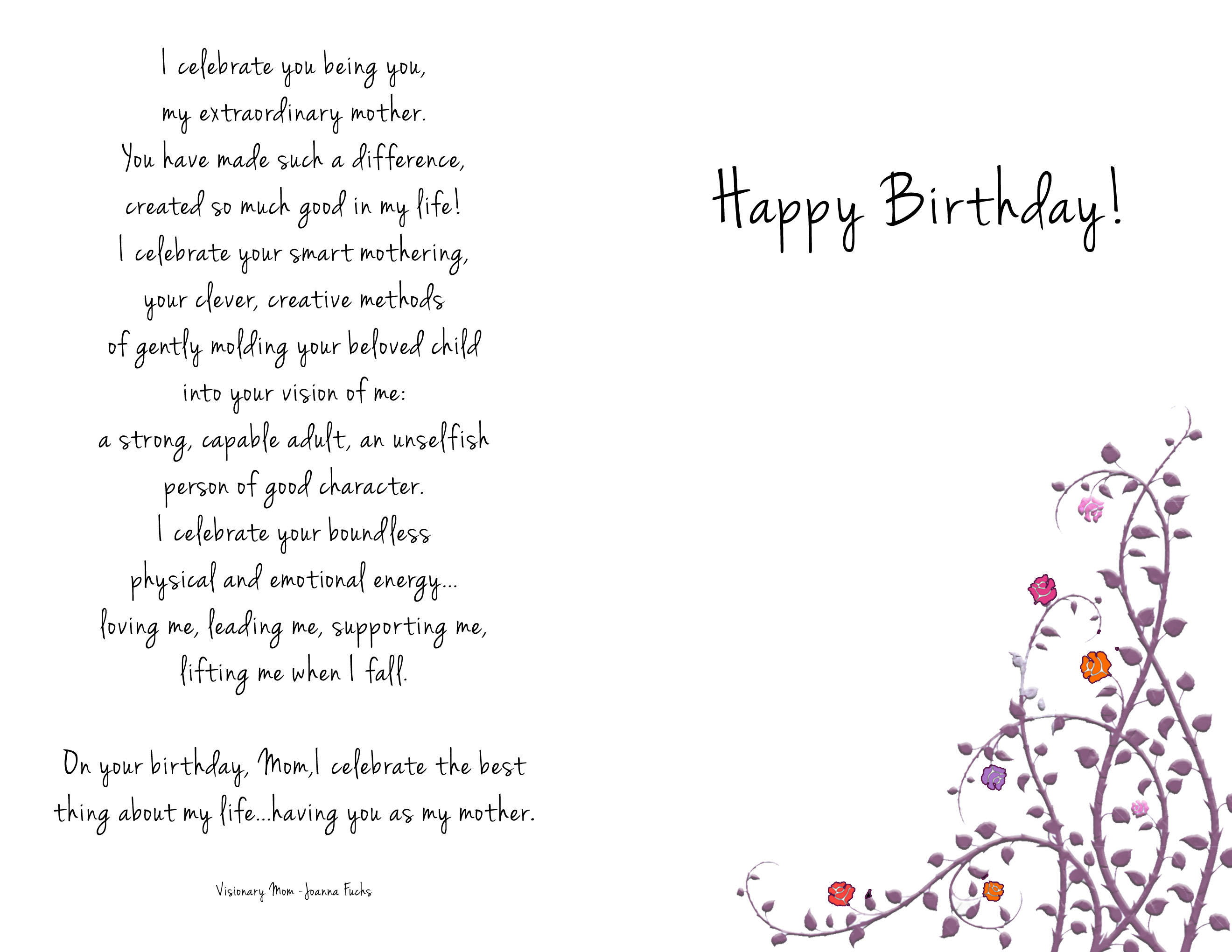 happy birthday mom card messages ; c71bf7eda6649b31aaca765d0ee3b528