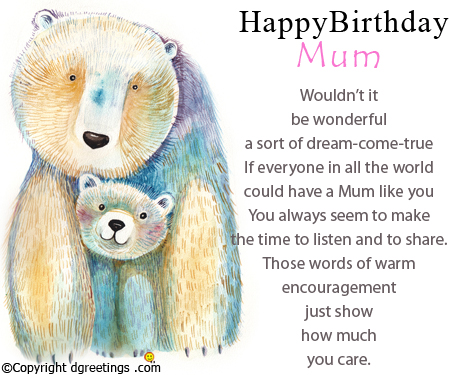 happy birthday mom card messages ; happy-birthday-mum