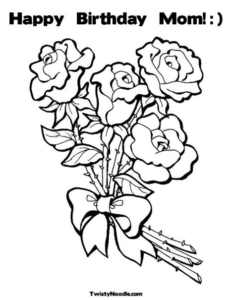 happy birthday mom pictures to color ; coloring-pages-for-mom-birthday-awesome-with-photos-of-pictures