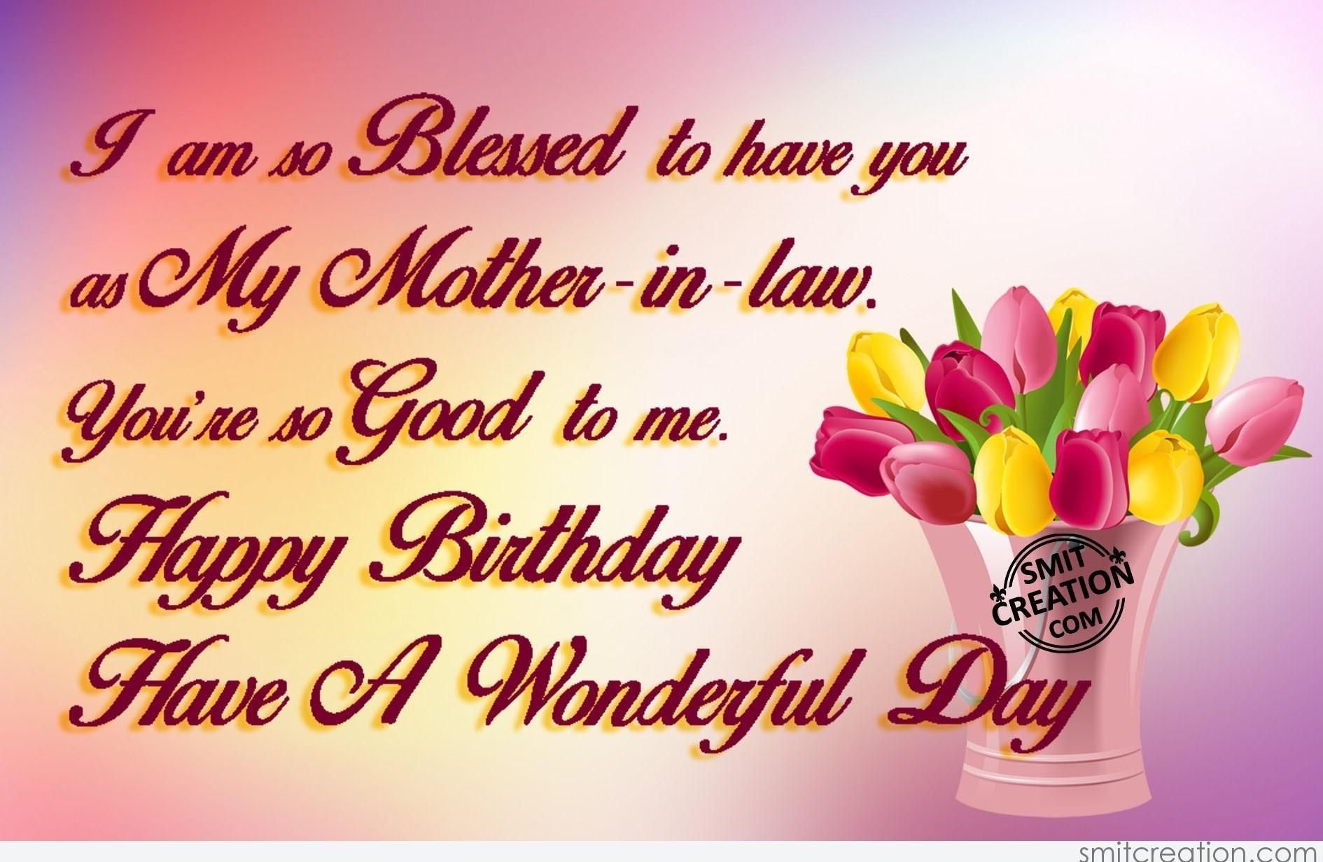 happy birthday mother in law images ; 3774