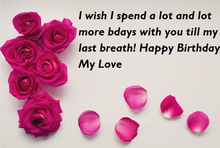 happy birthday my love quotes ; Birthday-Wishes-With-Love-Quotes