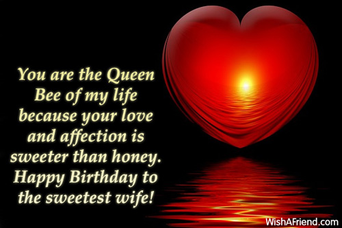 happy birthday my queen ; 1463-wife-birthday-messages