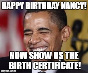 happy birthday nancy meme ; 16e3wp