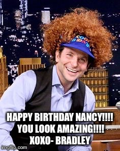 happy birthday nancy meme ; 17qhi1