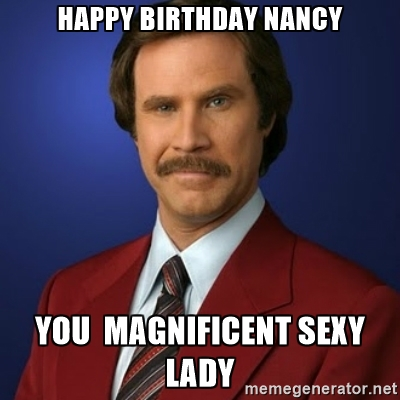 happy birthday nancy meme ; GjeJFcC