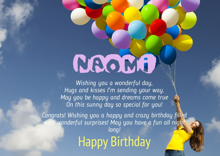 happy birthday naomi ; 12351