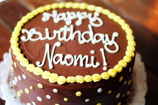 happy birthday naomi ; bday41