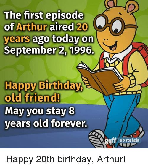 happy birthday old man clipart ; the-first-episode-of-arthur-aired-20-years-ago-today-3574155