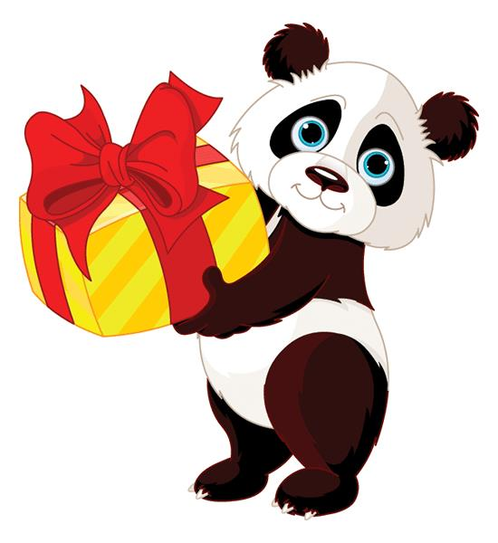 happy birthday panda clipart ; 43f329e27a119da4330433027fa93806