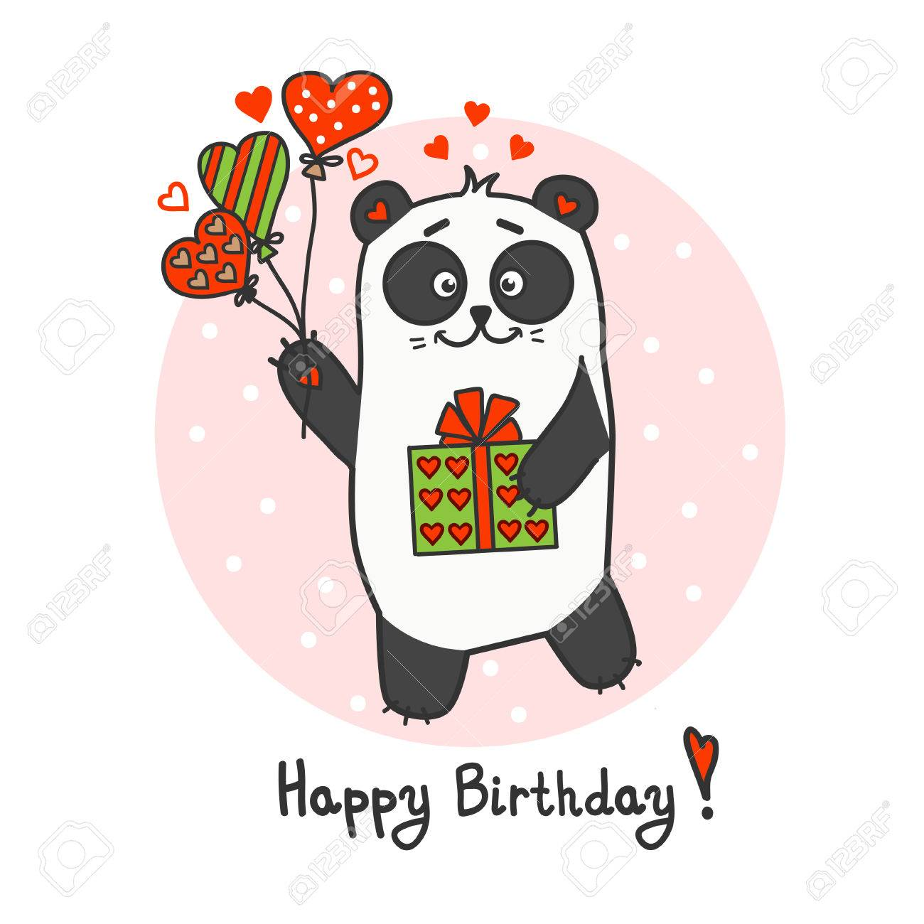 happy birthday panda clipart ; 53580477-happy-birthday-greeting-card-with-cute-little-panda