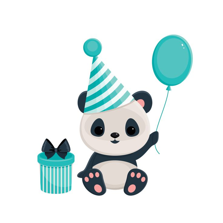 happy birthday panda clipart ; e6ee5bc108f126853cc93ff59e401a92--panda-party-bia