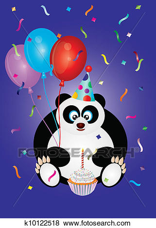 happy birthday panda clipart ; happy-birthday-panda-bear-illustration-clip-art__k10122518