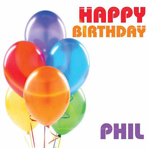 happy birthday phil ; 500x500