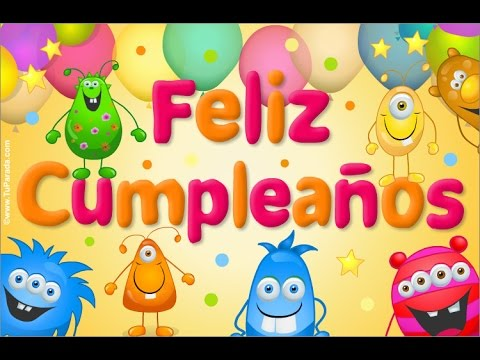 happy birthday pictures in spanish ; hqdefault