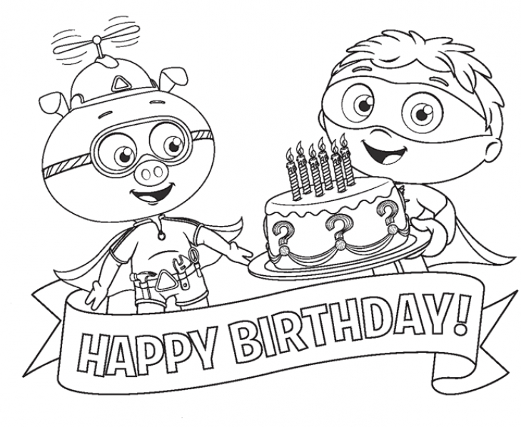 happy birthday pictures to color and print ; 3f96b64d9851a369a6280708a9c7f577
