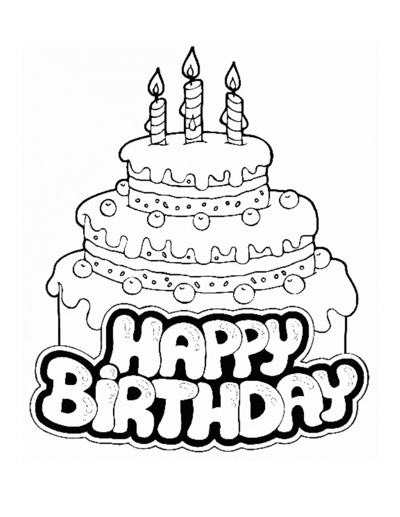 happy birthday pictures to color and print ; unique-happy-birthday-coloring-sheet-best-cake-pages-for-mom-free-3140