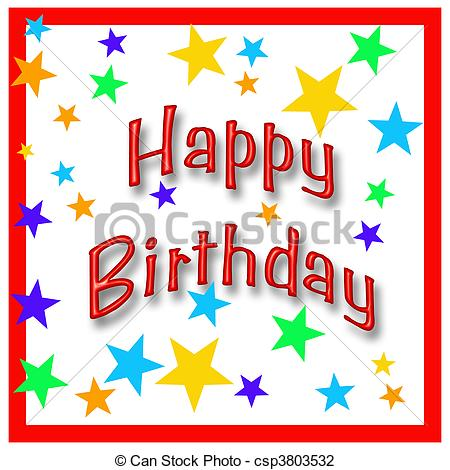happy birthday posters free ; happy-birthday-star-clip-art_csp3803532