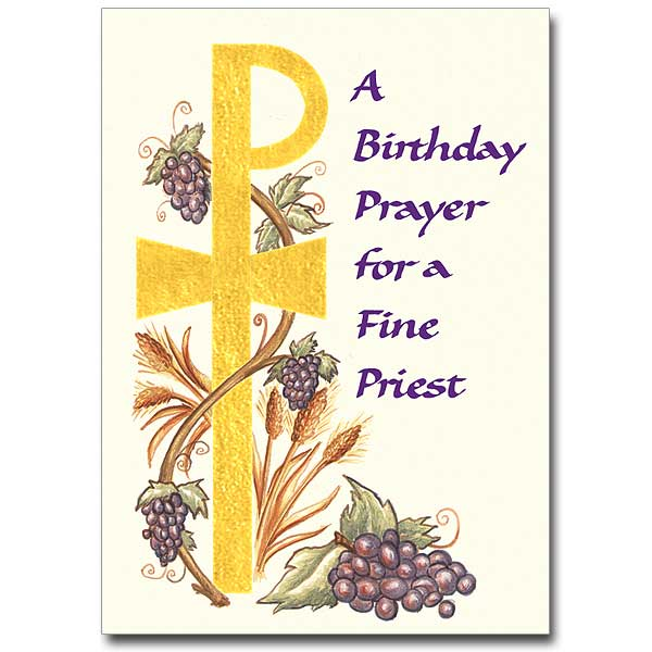 happy birthday priest ; CL1760