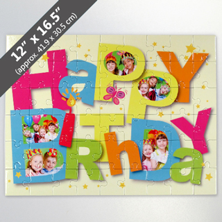 happy birthday puzzle ; FI_054