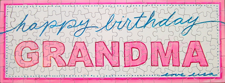happy birthday puzzle ; Puzzle-Grandma-Birthday-Wishes