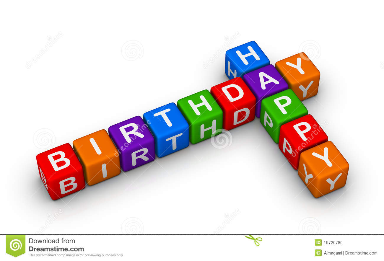 happy birthday puzzle ; happy-birthday-sign-19720780