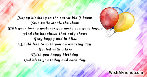 happy birthday quotes for kids ; 16957-kids-birthday-quotes
