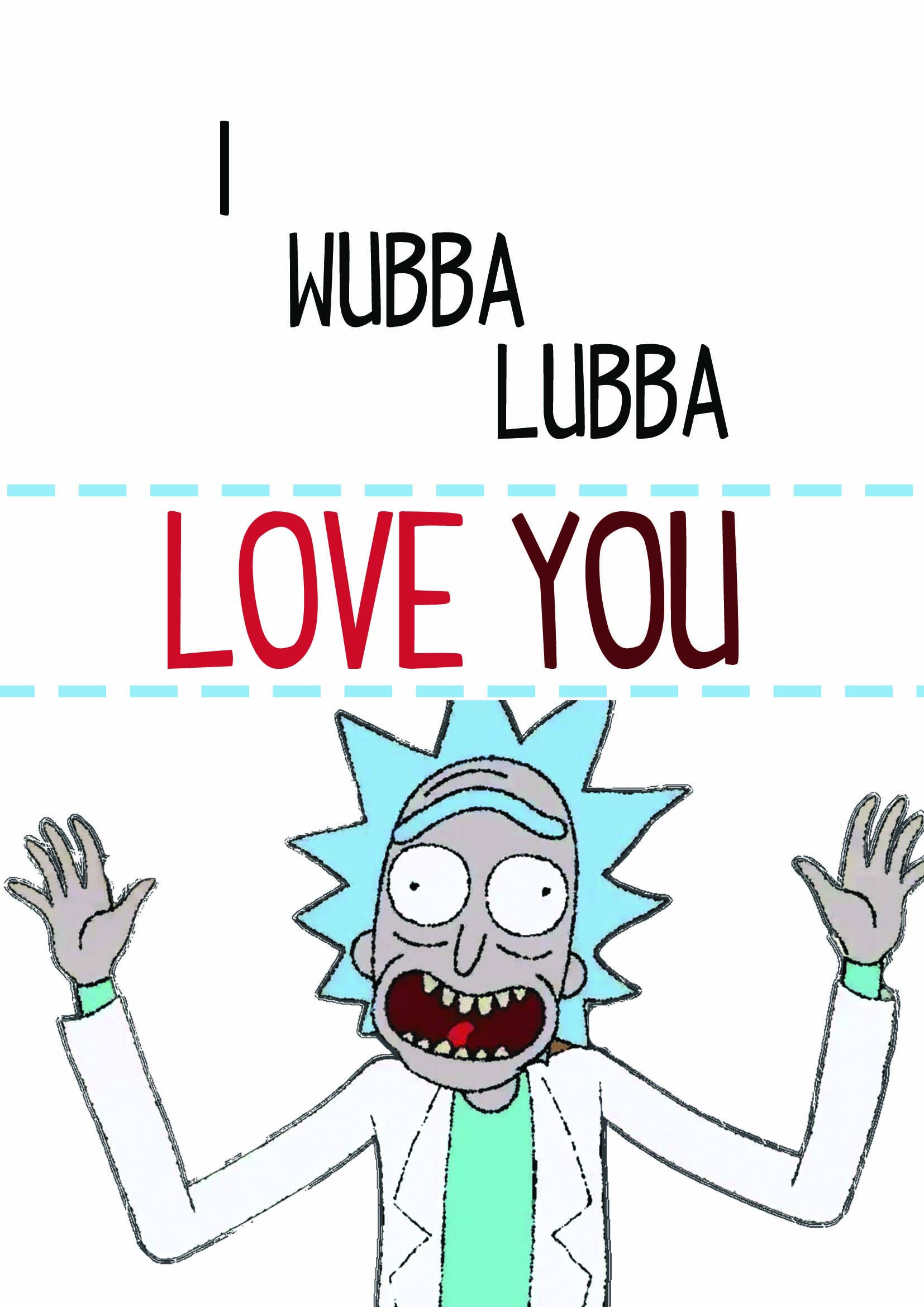 happy birthday rick and morty ; il_fullxfull