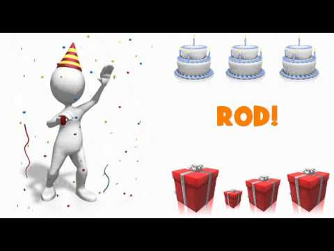 happy birthday rod ; hqdefault