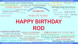 happy birthday rod ; mqdefault