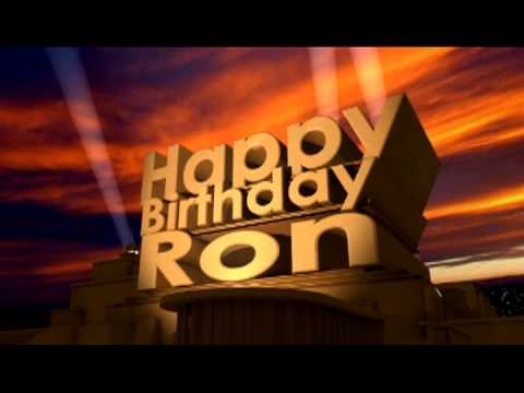 happy birthday ron images ; hqdefault