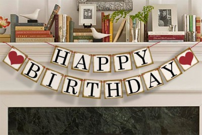 happy birthday rustic ; happy-birthday-banner