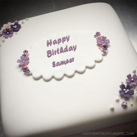 happy birthday sameer wallpaper ; butter-birthday-cake-for-Sameer